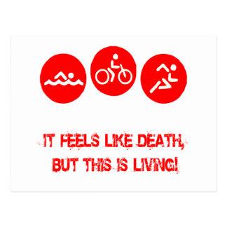 Siente como la muerte - Triathlon Postal