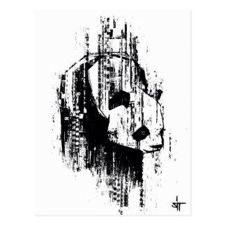 """SIENTE el """"código de la panda """" Tarjetas Postales"""