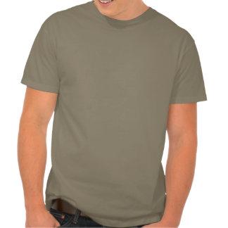 Siéntese en mis paseos del bigote del amante de la camiseta