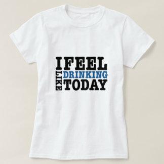 Siento como la consumición hoy camisas
