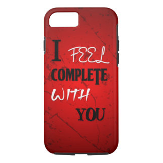Siento completo con usted funda iPhone 7