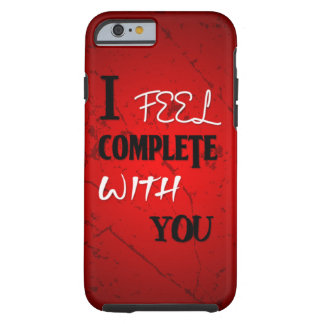Siento completo con usted funda resistente iPhone 6