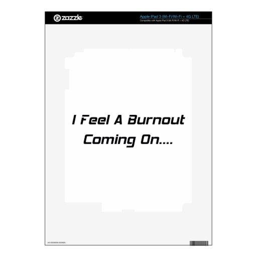 Siento una quemadura el adelantarse iPad 3 skin