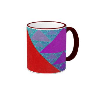 Sierpinski Quilt Mug