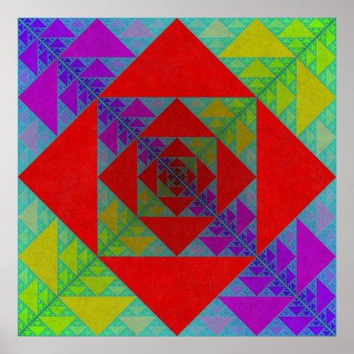 Sierpinski Square Print