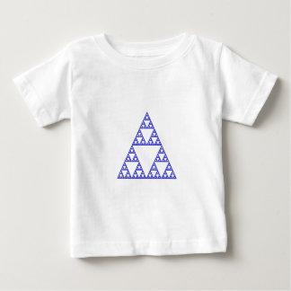 Sierpinski triangle baby T-Shirt