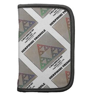Sierpinski Triangle (Fractal Self-Similar Set) Folio Planner