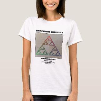 Sierpinski Triangle (Fractal Self-Similar Set) T-Shirt