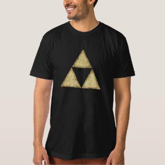 Sierpinski Triangle, Fractal, Stone T-Shirt