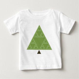 Sierpinski Triangle Tree Baby T-Shirt