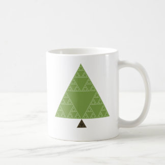 Sierpinski Triangle Tree Coffee Mug