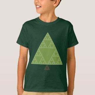 Sierpinski Triangle Tree T-Shirt