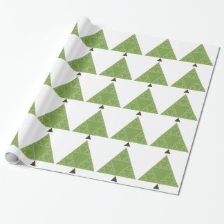 Sierpinski Triangle Tree Wrapping Paper