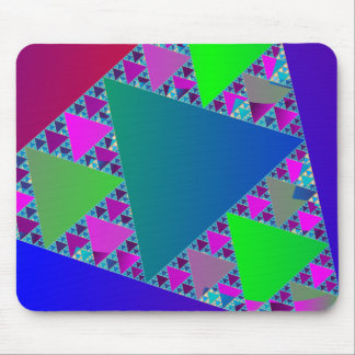 Sierpinski Triangles Mouse Pad