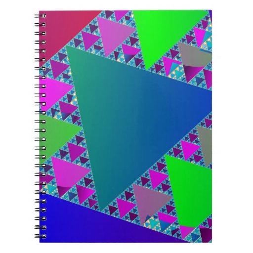 Sierpinski Triangles Note Book