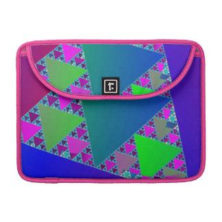 Sierpinski Triangles Sleeve For MacBooks