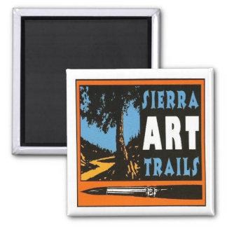 Sierra Art Trails Magnet