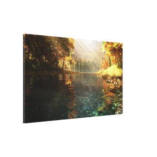 Sierra Autumn Canvas Print