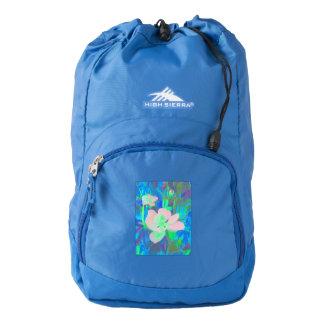 Sierra Backpack Blue Botannical Magnolias