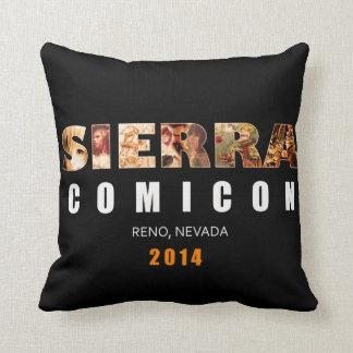 Sierra Comicon Autograph Pillow