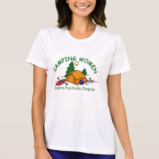 Sierra Foothills Color Logo Microfiber T-Shirt