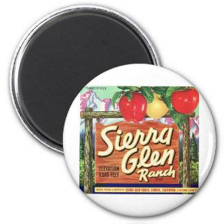Sierra Glen 2 Inch Round Magnet