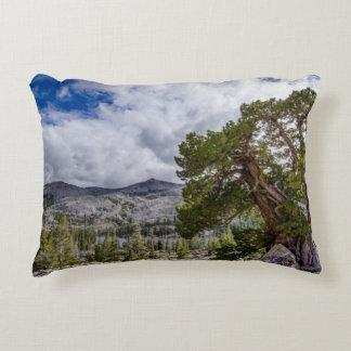 Sierra Juniper and Evergreen Trees Accent Pillow