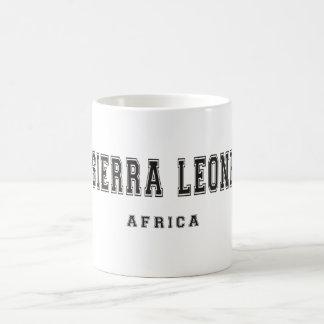 Sierra Leone Africa Coffee Mug