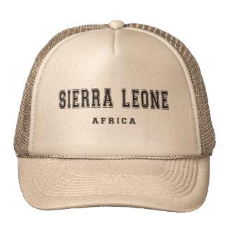 Sierra Leone Africa Trucker Hat