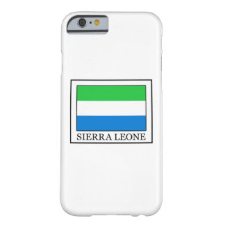 Sierra Leone Barely There iPhone 6 Case