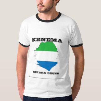 Sierra Leone, camiseta del mapa (Kenema) Poleras