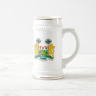 Sierra Leone Coat of Arms Mug