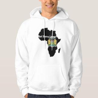 Sierra Leone del personalizado de Africankoko Sudaderas