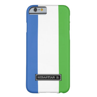 Sierra Leone Flag Barely There iPhone 6 Case