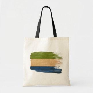 Sierra Leone Flag Canvas Bags