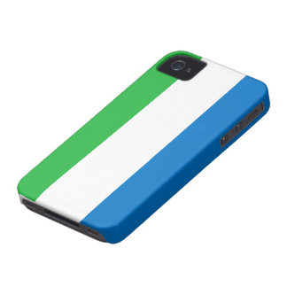 Sierra Leone Flag Case-Mate iPhone 4 Case