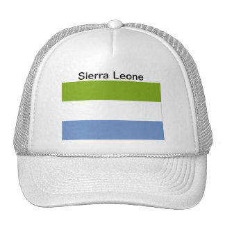 Sierra Leone Flag Hat Trucker Hat