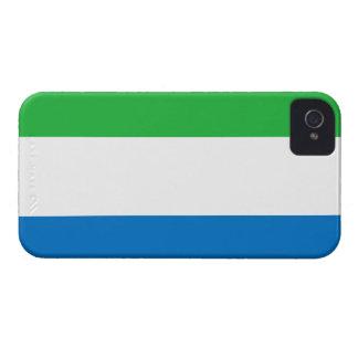 Sierra Leone Flag iPhone 4 Case-Mate Case
