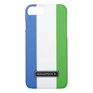 Sierra Leone Flag iPhone 7 Case