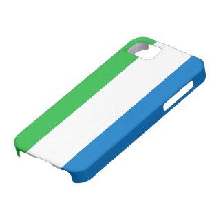 Sierra Leone Flag iPhone SE/5/5s Case