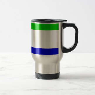 Sierra Leone Flag Coffee Mug