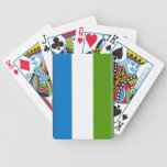 Sierra Leone Flag Playing Cards