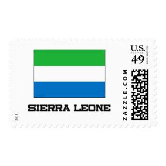 Sierra Leone Flag Postage