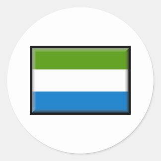Sierra Leone Flag Stickers