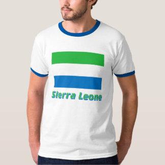 Sierra Leone Flag with Name T-Shirt