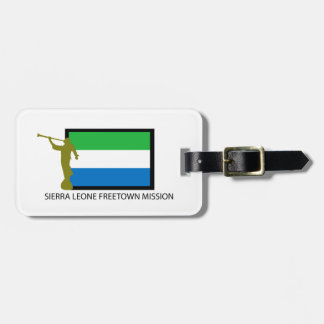 SIERRA LEONE FREETOWN MISSION LDS CTR LUGGAGE TAG