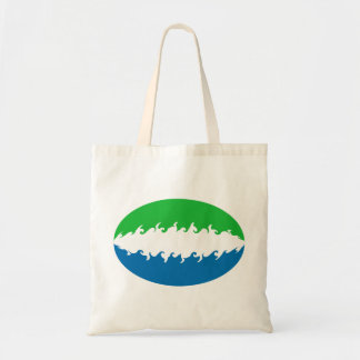 Sierra Leone Gnarly Flag Bag