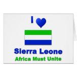 Sierra Leone Greeting Card