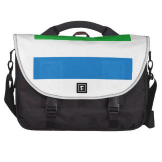 Sierra Leone Laptop Messenger Bag