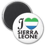 Sierra Leone Love Refrigerator Magnets